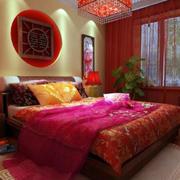 中式风格婚房卧室