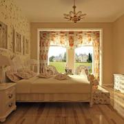 婚房田园温馨卧室