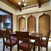 东南亚餐厅装潢背景