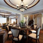 古典大户型别墅餐厅