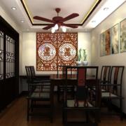 餐厅端庄装饰展示