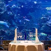 酒店餐厅水下景观