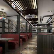 餐厅吊顶精致装潢