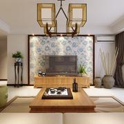 客厅中式吊灯