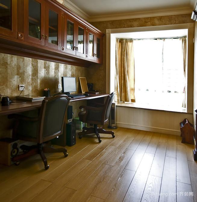 格调高雅的木色书房装修效果图