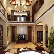别墅新中式风格装潢