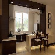 都市现代厨房吧台