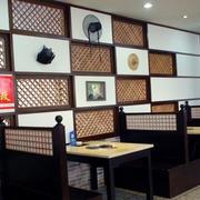 餐厅背景墙装饰