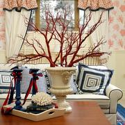 客厅亮眼茶几装饰