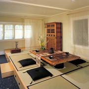 日式儒雅地台设计