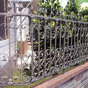 铁艺围墙效果图