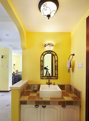 卫生间洗手台隔断