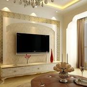 大户型客厅电视墙