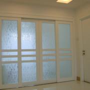 厨房磨砂玻璃门