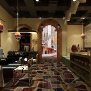火锅店瓷砖地板欣赏