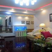 精致的家居客厅鱼缸