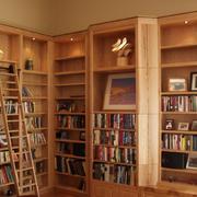 独特大户型书房书柜