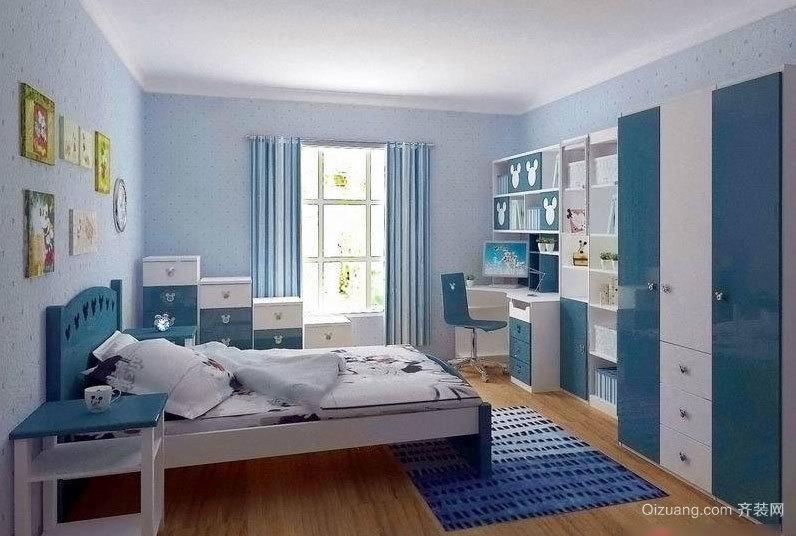 大户型气氛欢快的现代儿童房装修效果图鉴赏