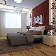 现代化的婚房卧室