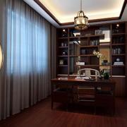别墅书房中式设计