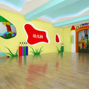 幼儿园稚气照片墙