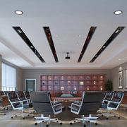 白色会议室吊顶欣赏