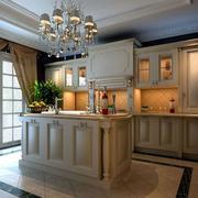 厨房灯光布置
