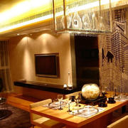 温馨优雅客厅灯