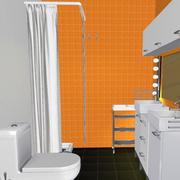 卫生间便利置物架