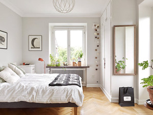 小户型白色公寓设计