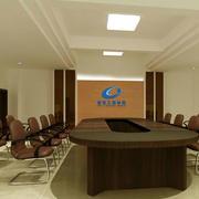 安静庄严的会议室