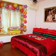 婚房卧室气球装扮
