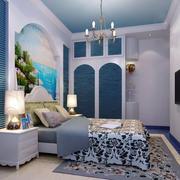 卧室魅力背景墙壁纸