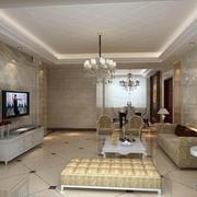 精致客厅背景墙设计