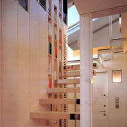 温馨素雅的楼梯