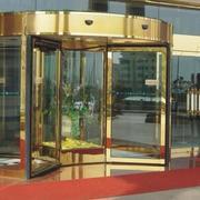 大酒店大厅旋转门