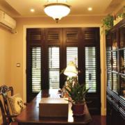 美式风格的家居窗帘