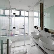 卫生间玻璃隔断门