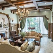 客厅美式装饰