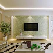 客厅海藻泥背景墙