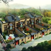有老北京风格的别墅