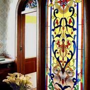 卫生间东南亚风格玻璃门