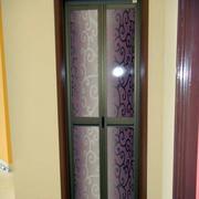 卫生间精致艺术玻璃门