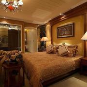温馨大户型卧室