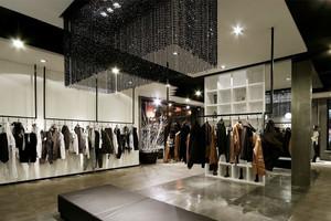 2015时髦的现代服装店装修效果图鉴赏