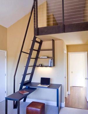 轻松稳健的阁楼楼梯装修效果图鉴赏