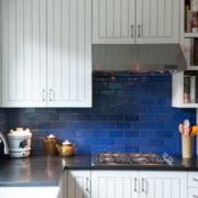 厨房蓝色文化砖