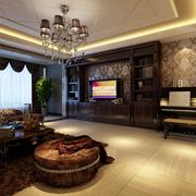 庄重优雅客厅装潢