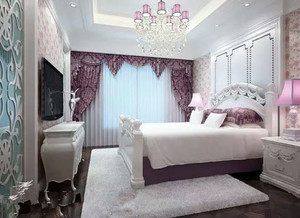 精致浪漫的卧室