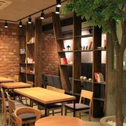 复古时尚的咖啡厅